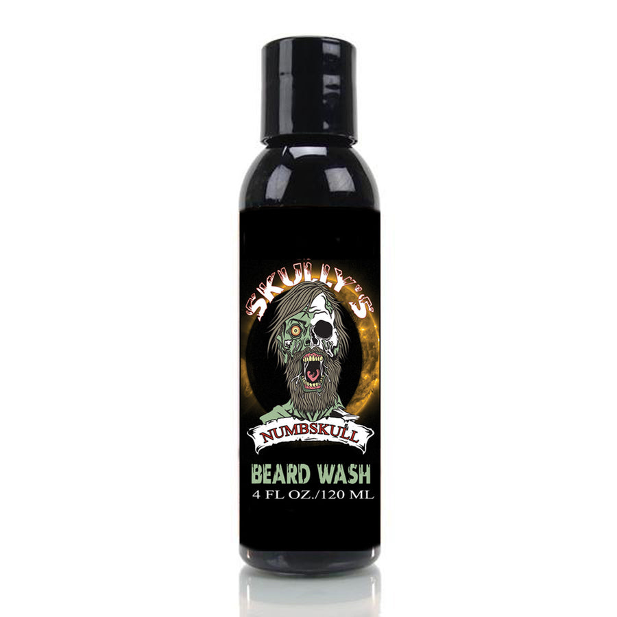 numbskull beard wash, sulfate free beard wash, the best beard wash, beard shampoo by Skully's Beard Oil