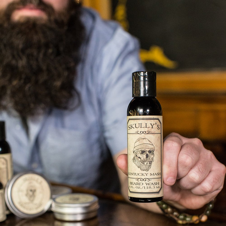 Kentucky Mash Beard, Hair & Body Wash - 4 oz. - Skully's Ctz Beard Oil