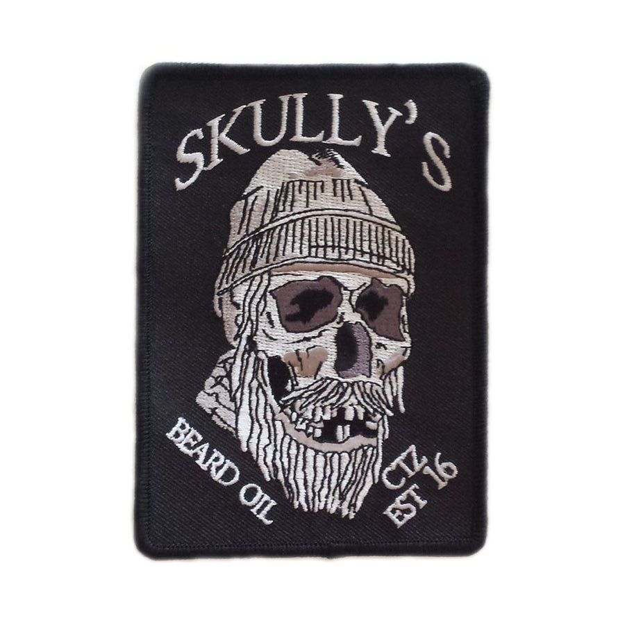 Skull Patch - Black - Skully's Ctz Beard Oil
