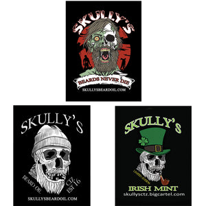 Skully's Sticker 3 Pack