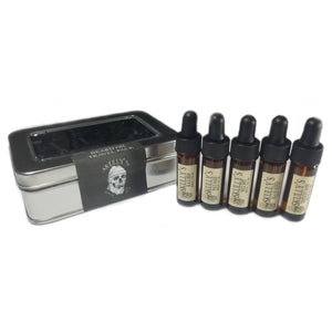 beard oil sample pack, beard oil travel kit, beard care travel kit, skullys ctz beard oil