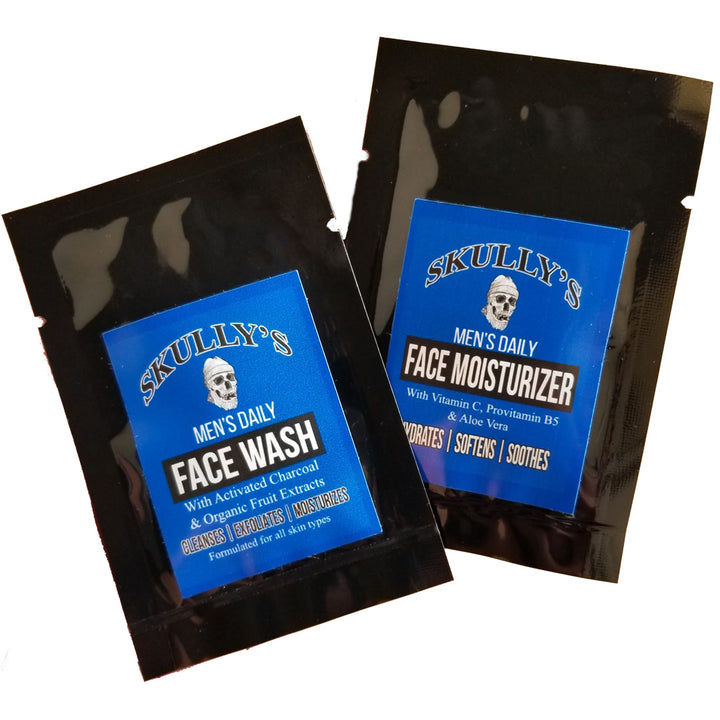 Face Wash & Face Moisturizer Sample Kit