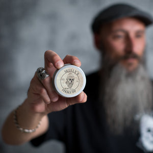 Double Tap Beard Balm 2 oz. - Skully's Ctz Beard Oil