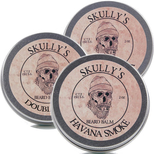 Copy of Beard Balm 2 oz. -3 Pack - Skully's Ctz Beard Oil