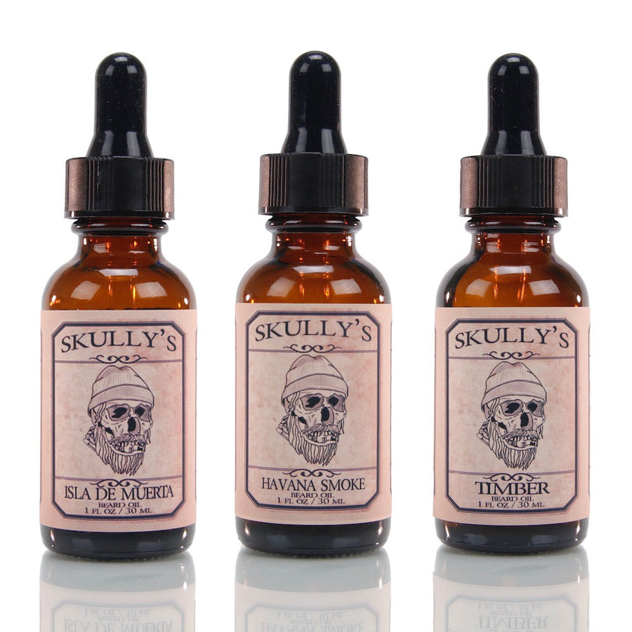 Mix or Match Beard Oil 1 oz. -3 Pack - Skully's Ctz Beard Oil
