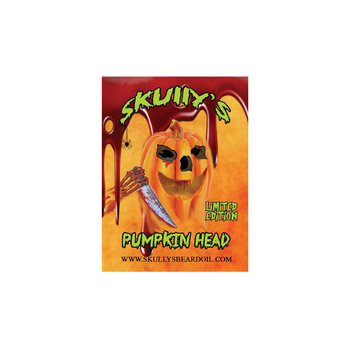 Pumpkin Head Limited Edition Sticker