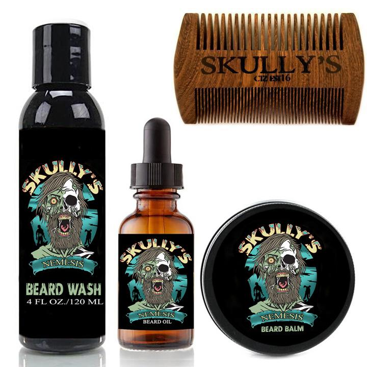 Nemesis Beard Care Kit (Beards Never Die Collection)