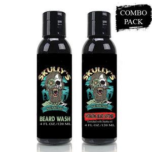 Nemesis Hydrating Beard Softener & Beard Wash Combo Pack