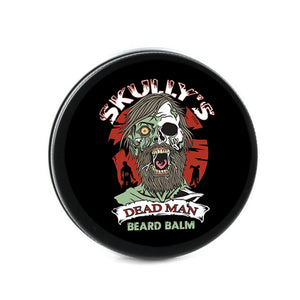 Dead Man Beard balm, rosewood and musk beard balm. Skully's beard oil the best beard oil for growth and thickness. Bears oil