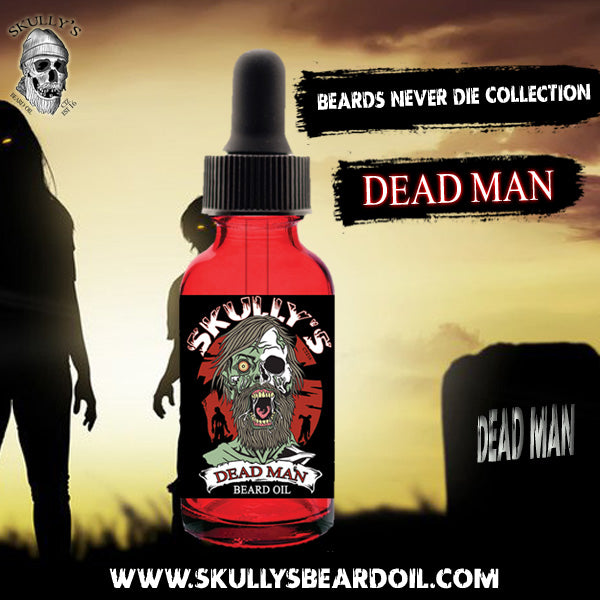 Skully's beard oil Dead Man beard oil, the best beard oil for growth and thickness. Beards oil