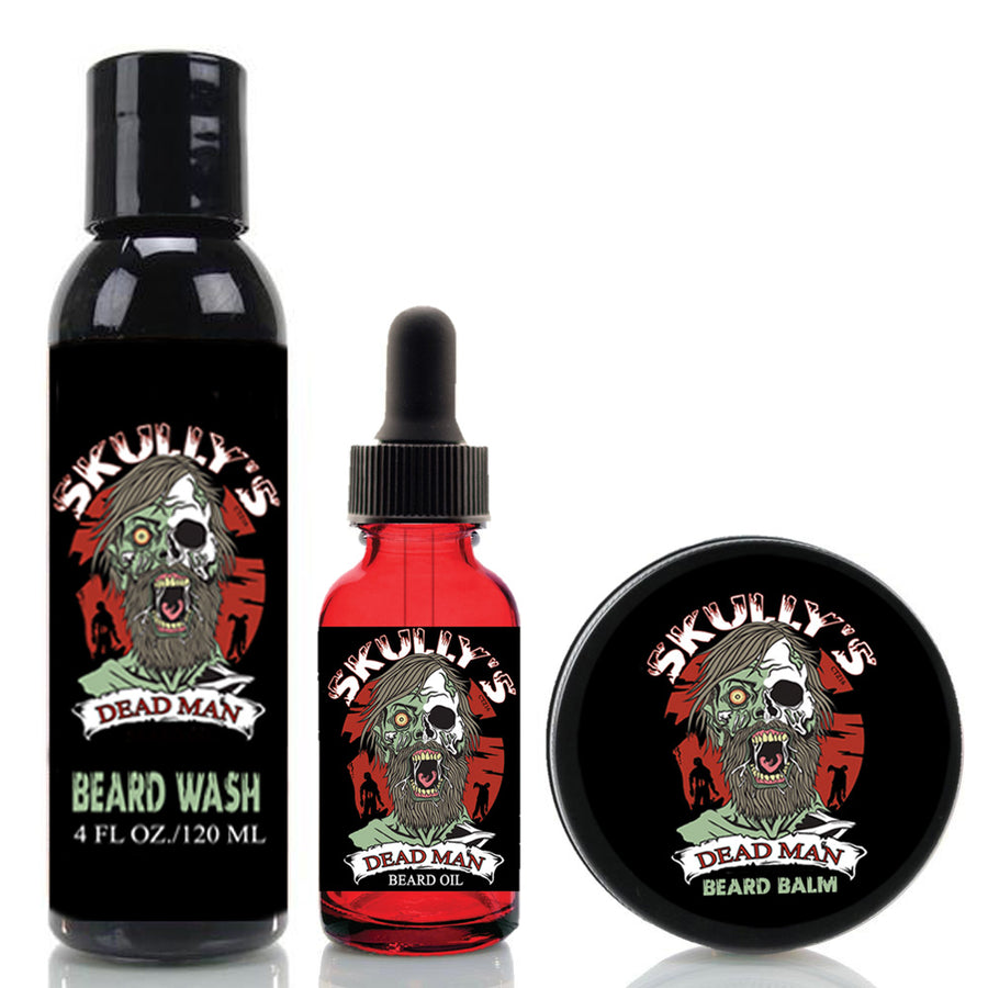 Dead Man Ultimate Beard Care Kit (Beards Never Die Collection)