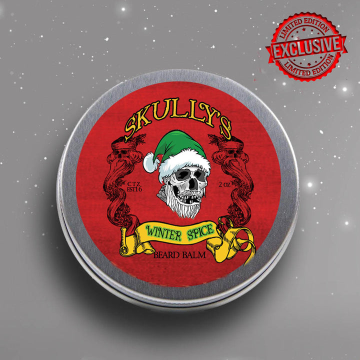 Winter Spice Beard Balm (Holiday Limited Edition) 2 oz by Skullys Beard Oil