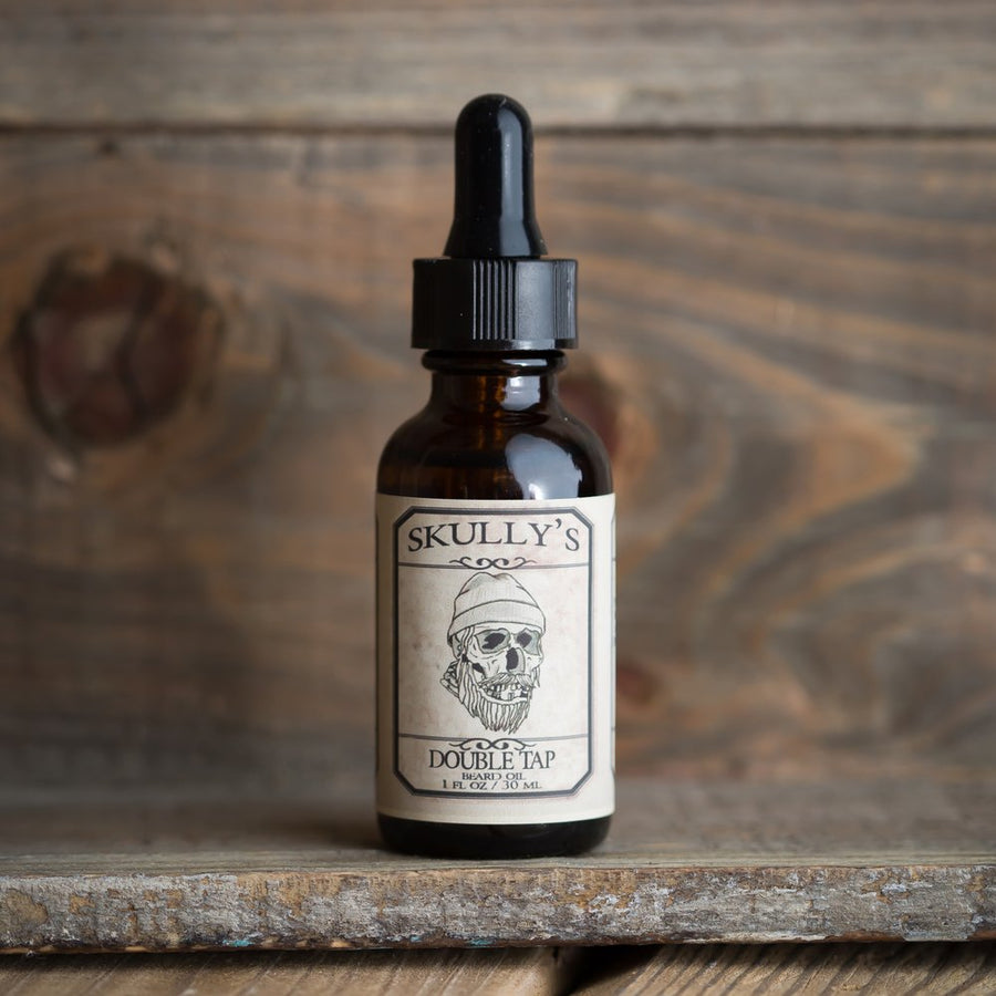Double Tap Beard Oil 1 oz. - Skully's Ctz Beard Oil