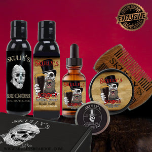 Skully's Scrooge Ultimate Beard Care Kit (Seasonal Limited Edition) Available until January 15th, 2020
