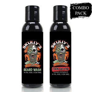 Juggernaut Hydrating Beard Softener & Beard Wash Combo Pack