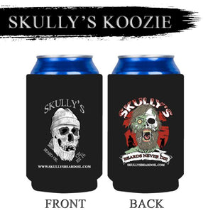 Koozie, can koozie, beer koozie, coozie, can cooler, bottle cooler by Skullys Beard Oil
