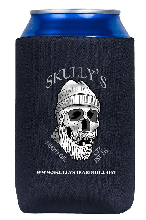 Koozie, can koozie, beer koozie, can cooler, bottle cooler, coozie by Skullys Beard Oil