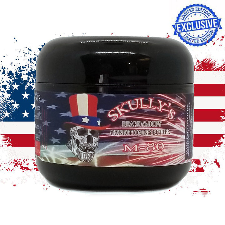 M-80 (4th of July Limited Edition) Beard & Body Conditioning Butter 2 oz. Available until July 5th
