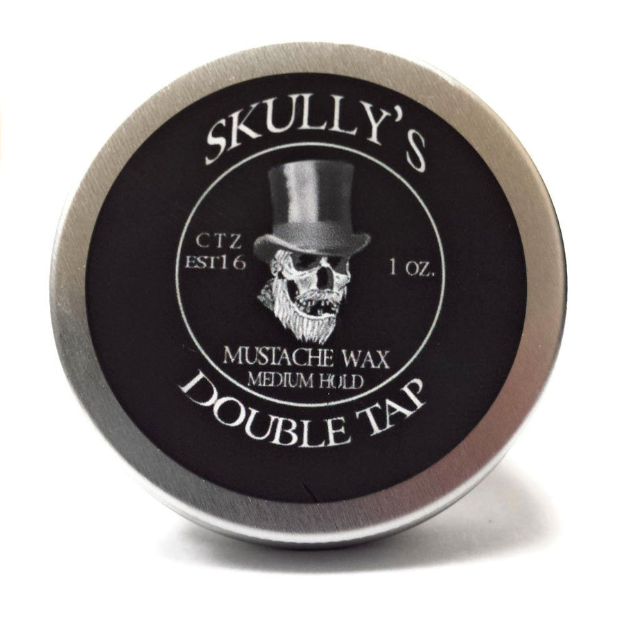 Double Tap Mustache Wax 1 oz. - Skully's Ctz Beard Oil
