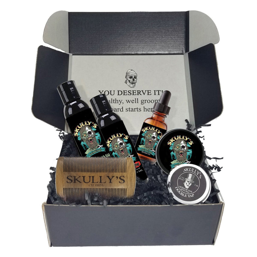 Nemesis Ultimate Beard Care Kit (Beards Never Die Collection)