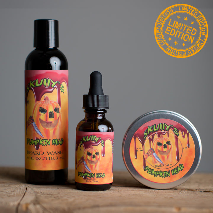 Pumpkin Head Combo Pack (Halloween Limited Edition) Only Available Until October 31st