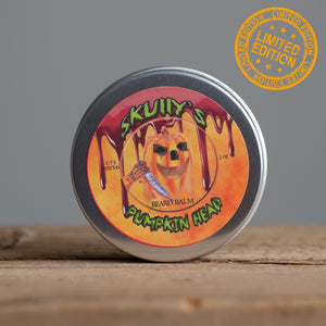 Pumpkin Head Beard Balm (Halloween Limited Edition) 2 oz. Only Available Until October 31st