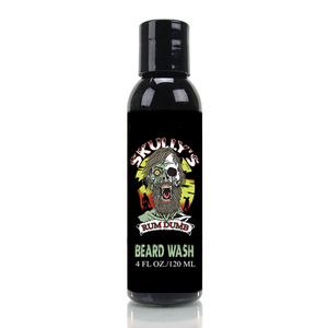 Rum Dumb beard wash beard shampoo by Skully's beard oil. The best beard oil for growth and thickness. Bears oil