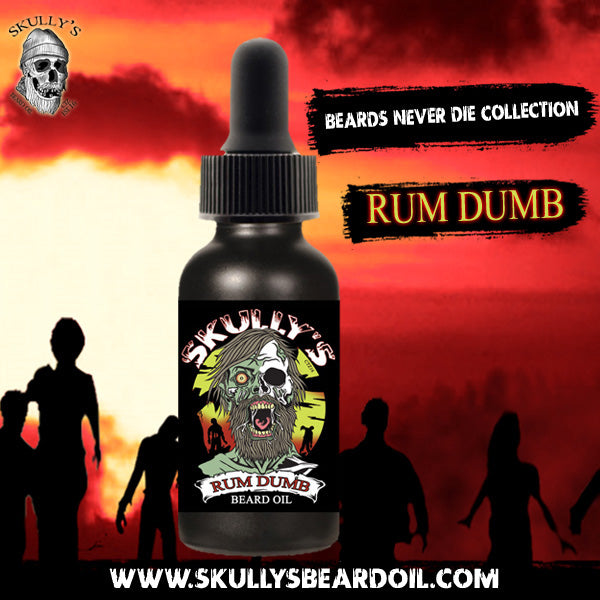Skully's Rum Dumb bay rum beard oil by Skully's beard oil. The best beard oils for growth and thickness. Bears oil