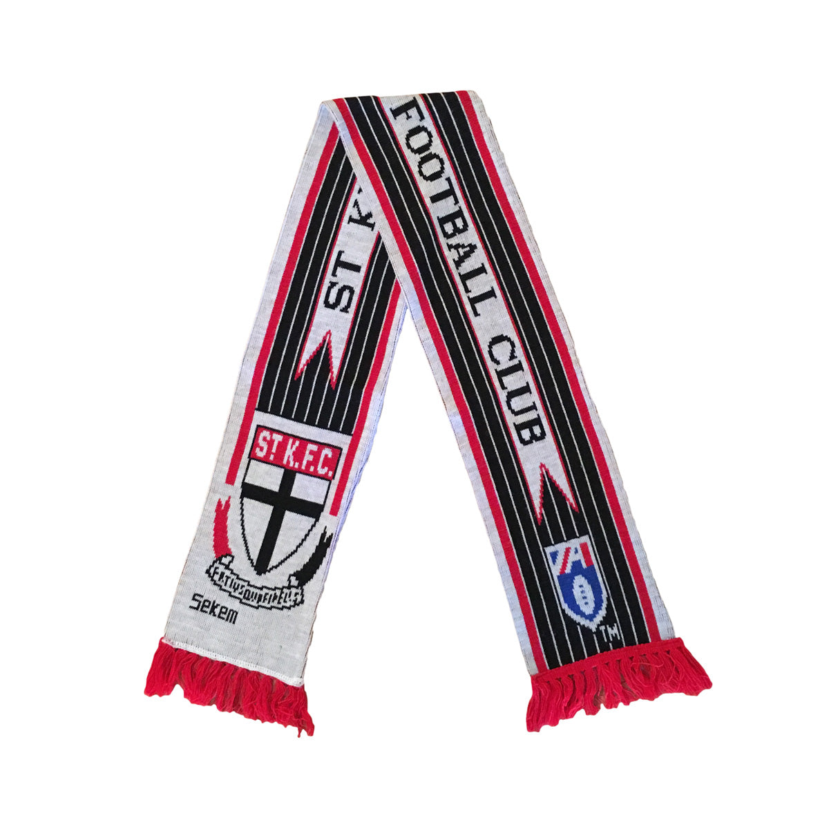 St Kilda Saints Sekem AFL Football Scarf
