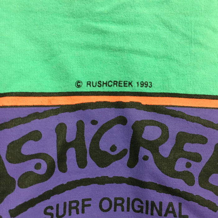 Rushcreek Australia Vintage Surfwear T-Shirt Mens Large