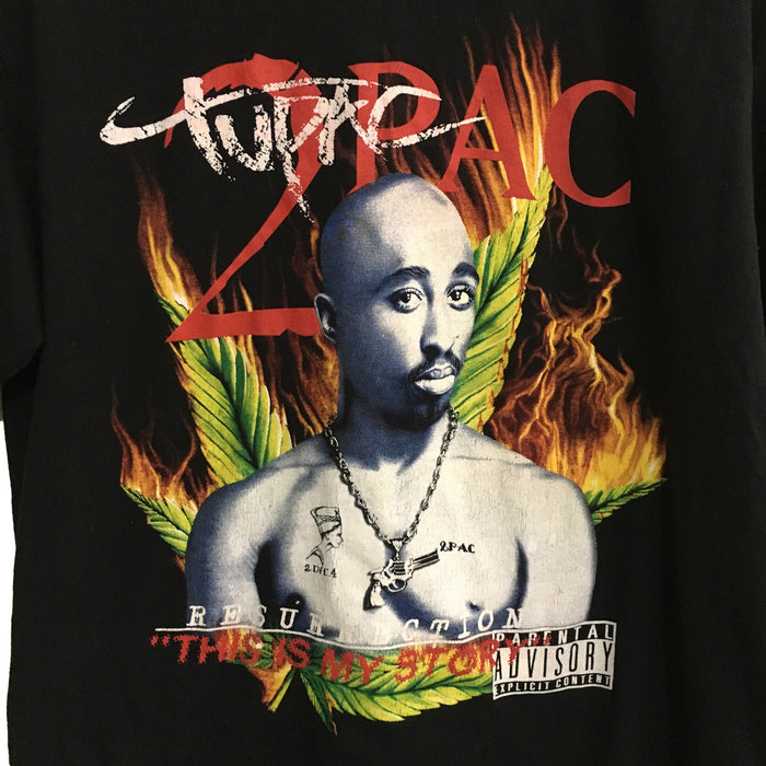 Tupac Shakur 2Pac Resurrection Rap T-Shirt XL