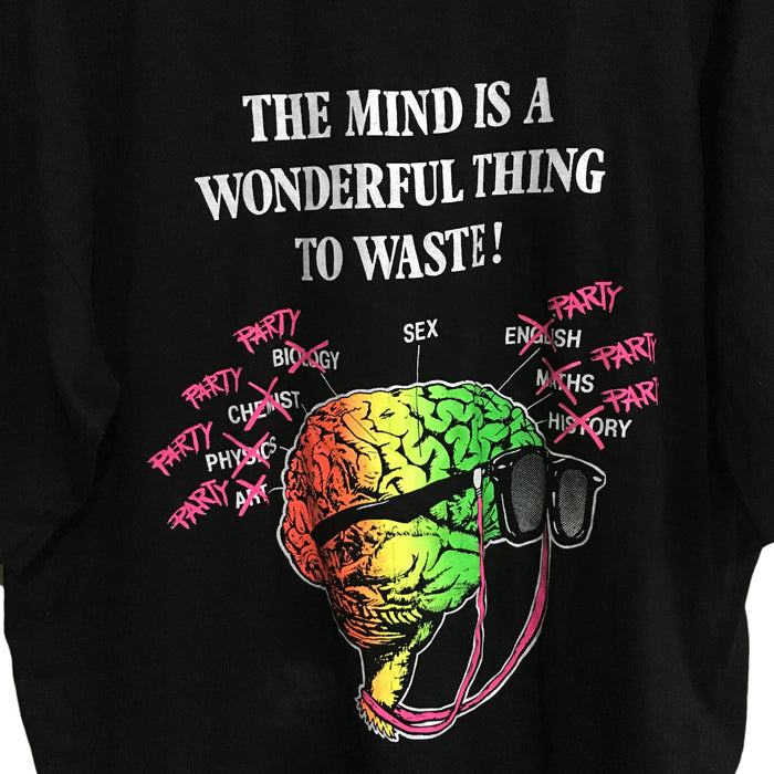 The Mind Is A Wonderful Thing To Waste T-Shirt Mens Large