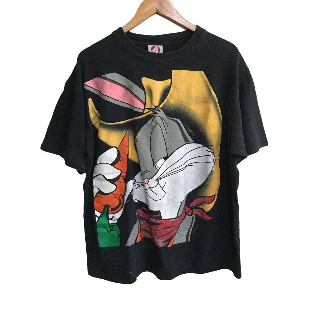 Bugs Bunny Cowboy Looney Tunes ACME T-Shirt Mens XL