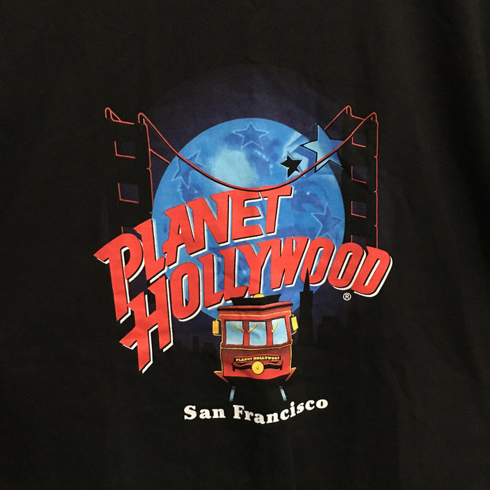 Planet Hollywood San Francisco 1991 T-Shirt Mens Medium
