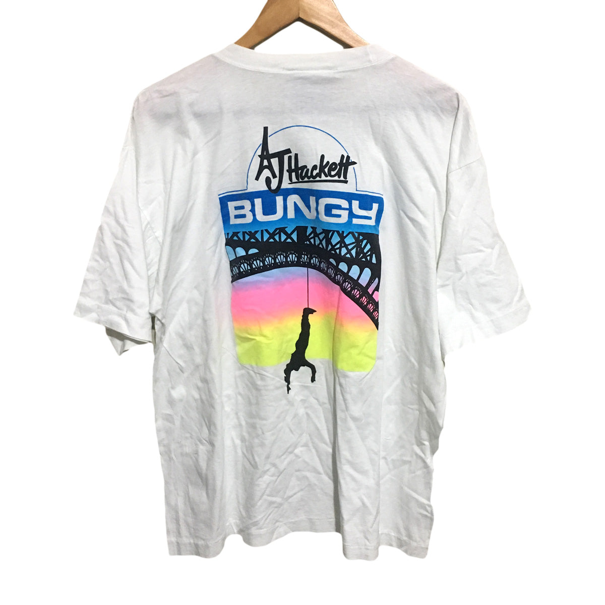 AJ Hackett Bungy Jumping Cairns T-Shirt Mens XL