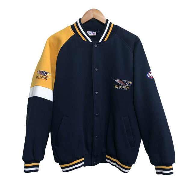 West Coast Eagles AFL Bomber Jacket Mens Medium