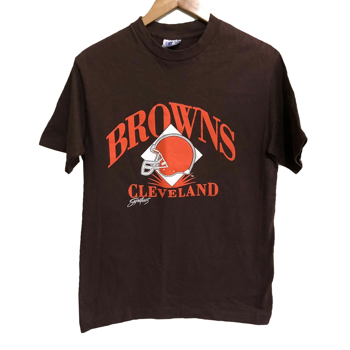 Cleveland Browns Trench Vintage NFL Football T-Shirt Medium
