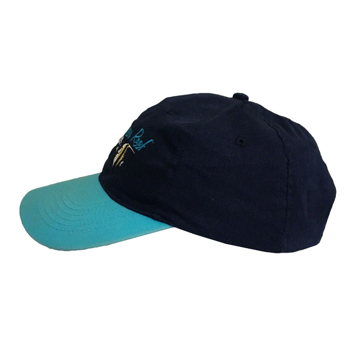 Great Barrier Reef Fish Travel Vintage 1990's Baseball Cap
