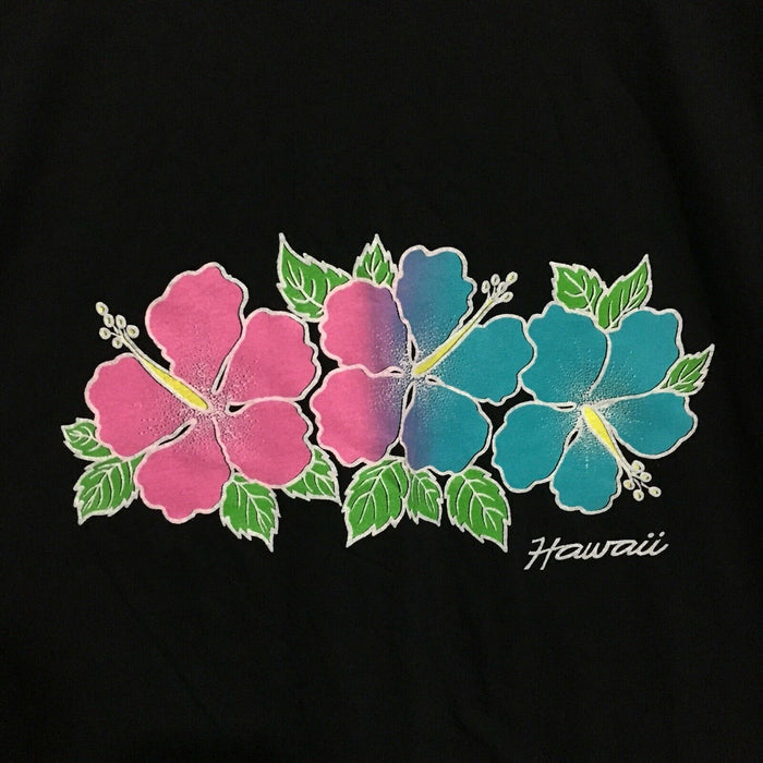 Hawaii Hibiscus Vintage 90's Travel T-Shirt Mens XL