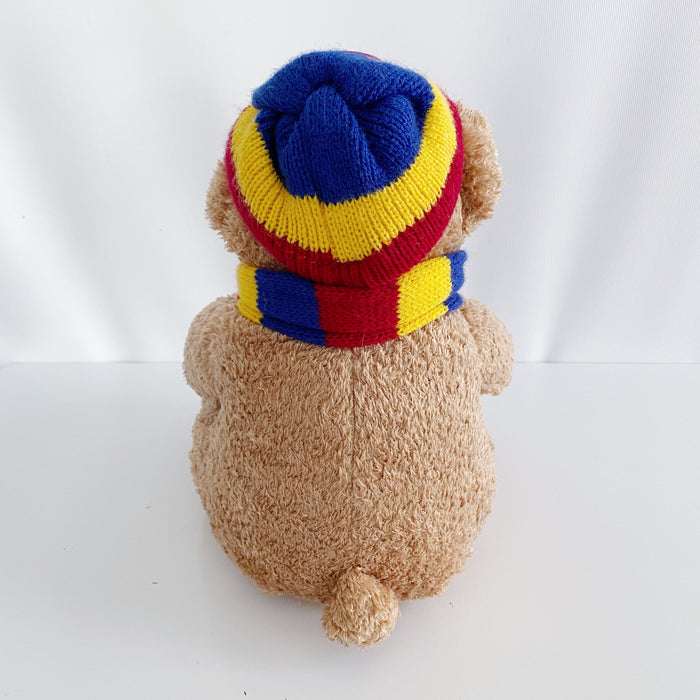 "Brisbane Lions Bear Retro AFL Football 10"" Plush Toy"