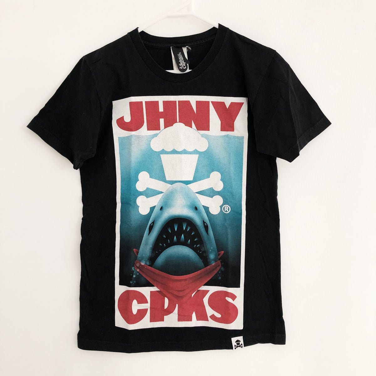 Johnny Cupcakes Jaws T-Shirt Mens Small