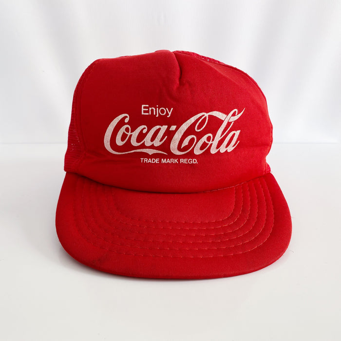 Enjoy Coca-Cola Vintage 90's Mens Trucker Hat