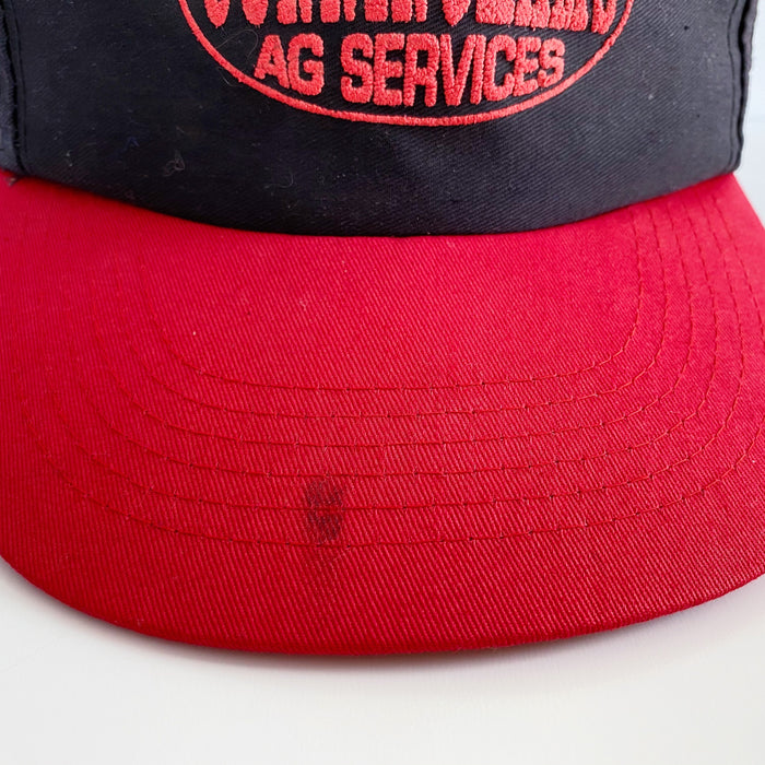 Cunninghams Ag Services Workwear Vintage 90's Snapback Cap