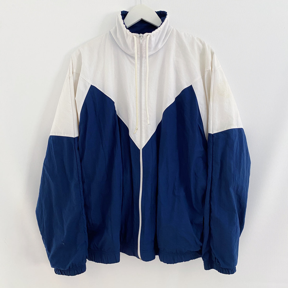 Track Jacket Colourblock Vintage Sportswear 90's Mens Large 110cm