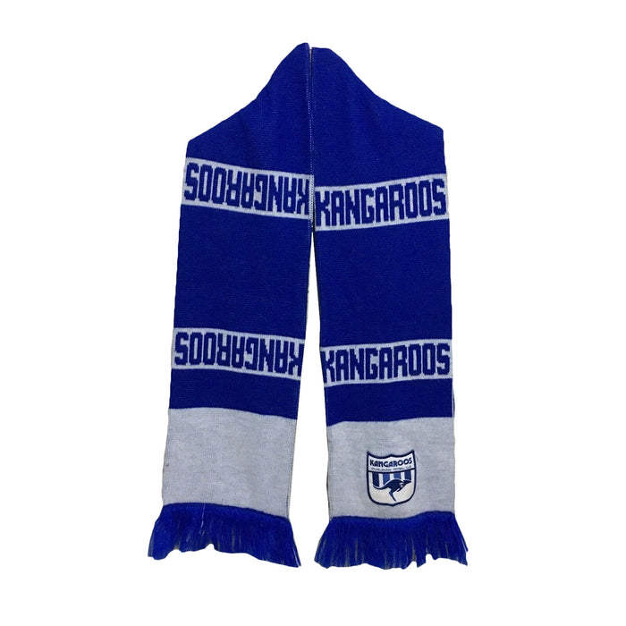 North Melbourne Kangaroos Sekem Vintage AFL Football Scarf