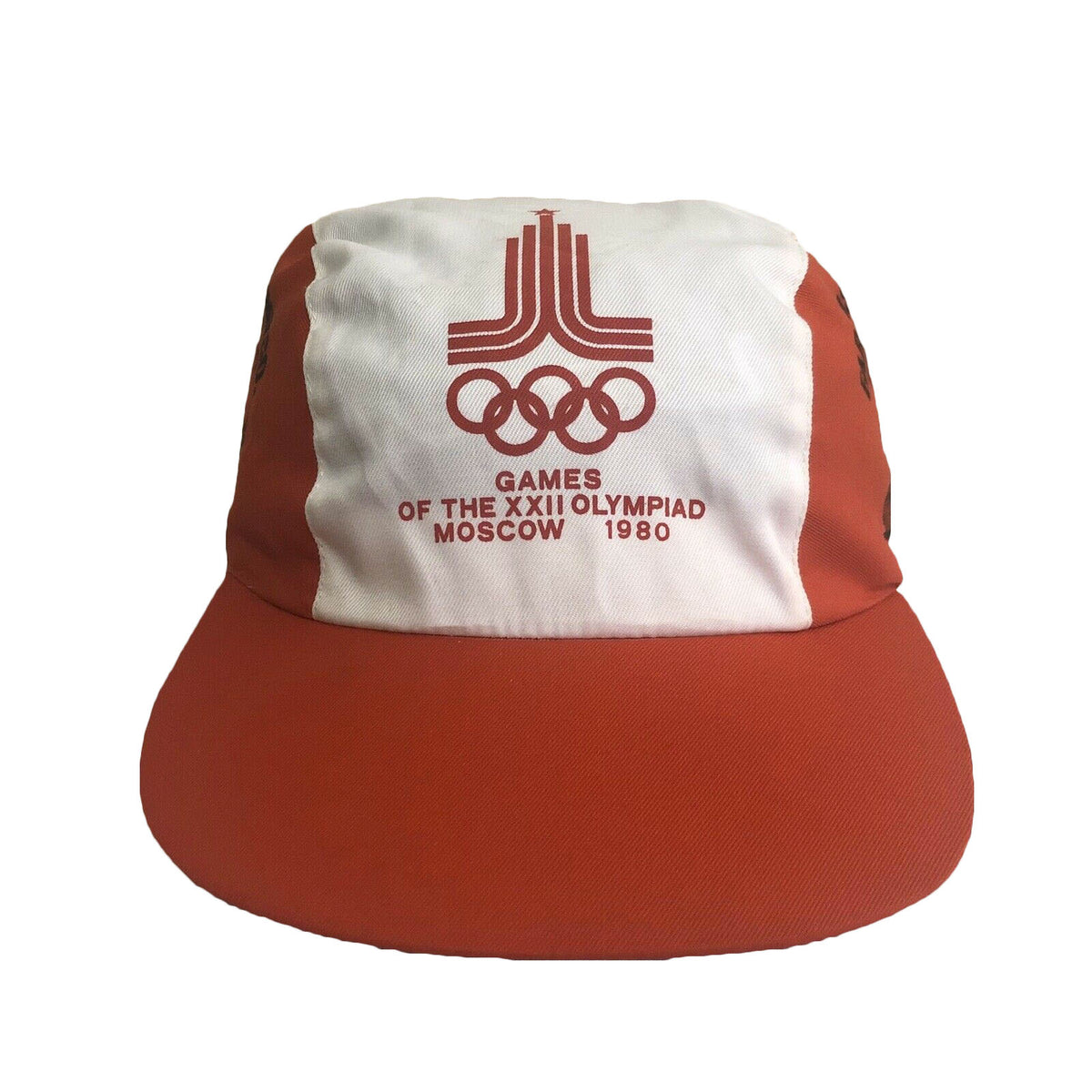 Moscow Olympic Games 1980 Russia Vintage 80's Painters Hat