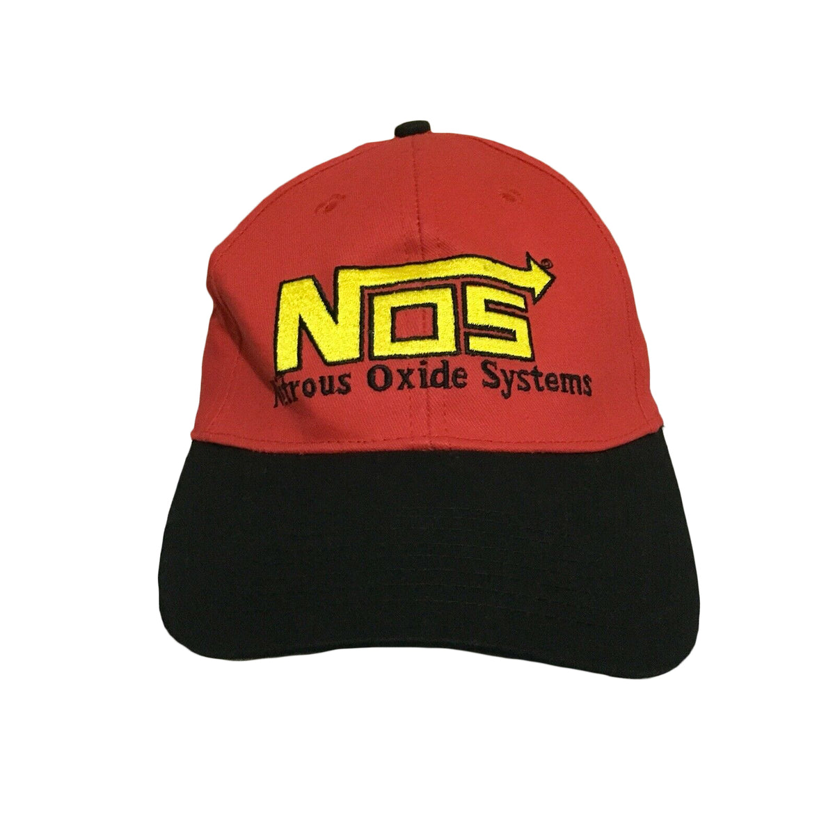 NOS Nitrous Oxide Systems Racing Vintage Strapback Cap