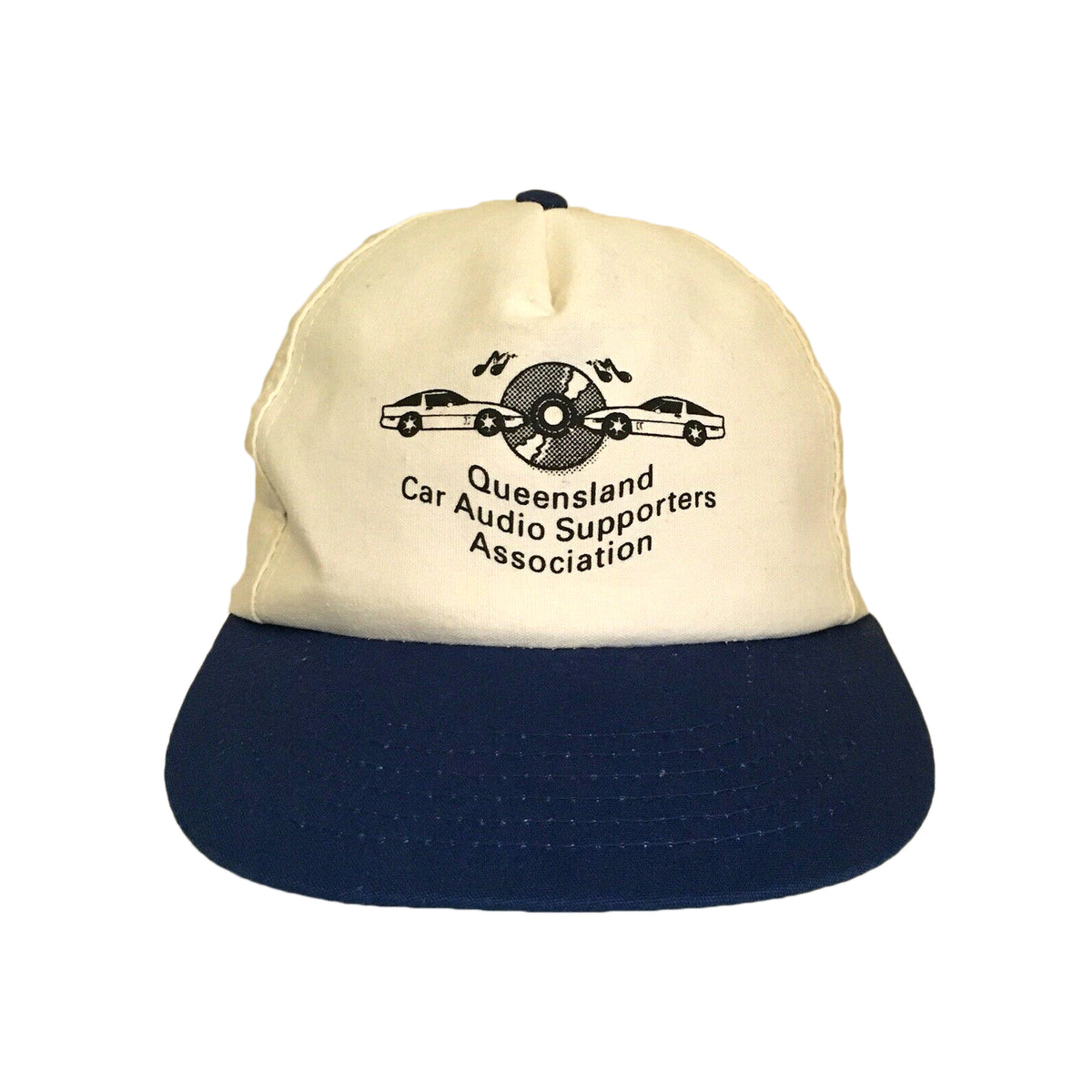 Queensland Car Audio Supporters Association Vintage Snapback Cap
