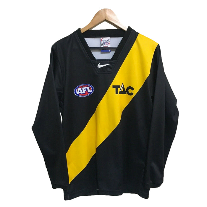 Richmond Tigers 2002 AFL Football Long Sleeve Guernsey Mens Small