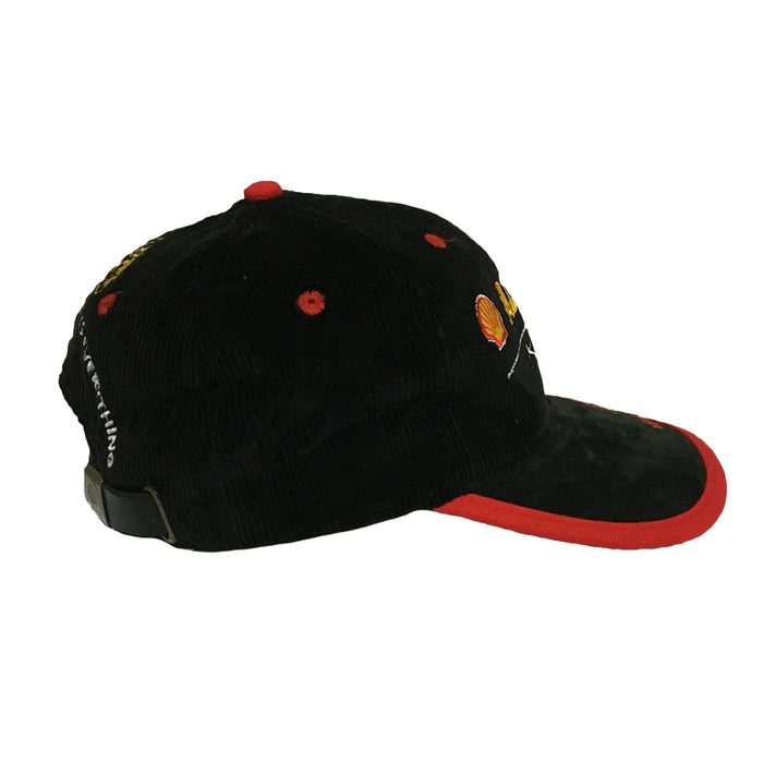 Shell Advance Oil MotoGP Racing Corduroy Vintage 1990's Mens Cap Hat